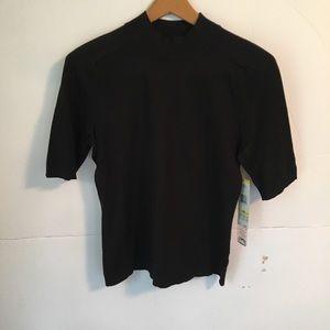 Jones New York silk blend turtleneck blouse